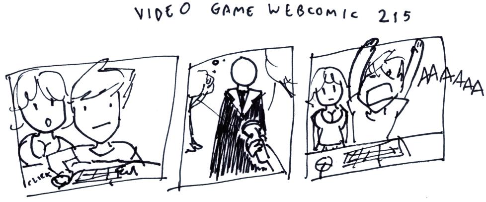 Video Game Webcomic 215