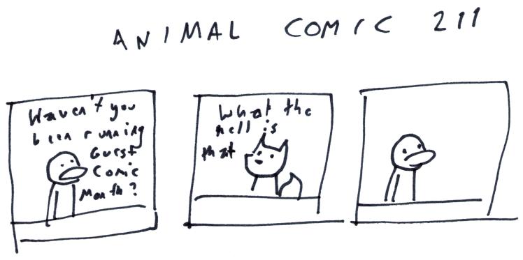 Animal Comic 211
