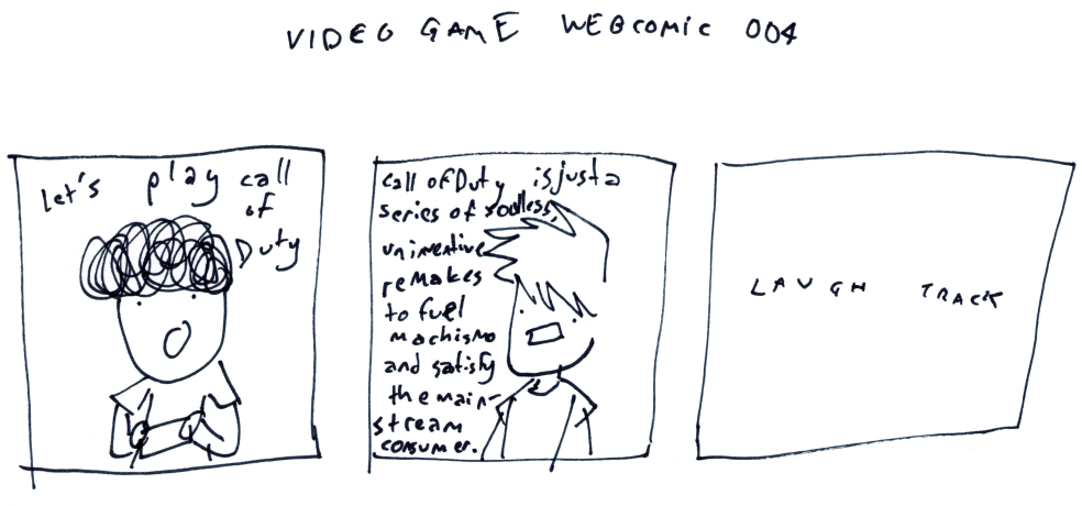 Video Game Webcomic 004